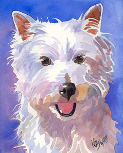 West Highland White Terrier 051705 - Ron Krajewski Art
