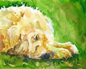 Wheaten Terrier 041209 - Ron Krajewski Art