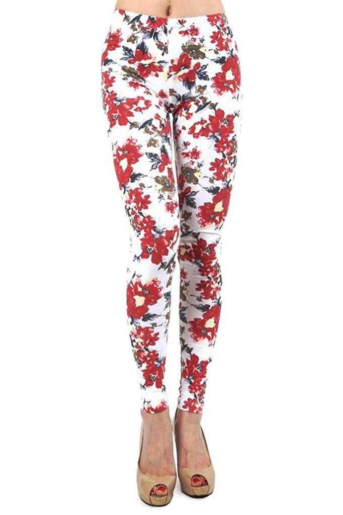 Stretchy Floral Leggings