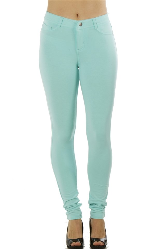 Stretchy Pants in Mint