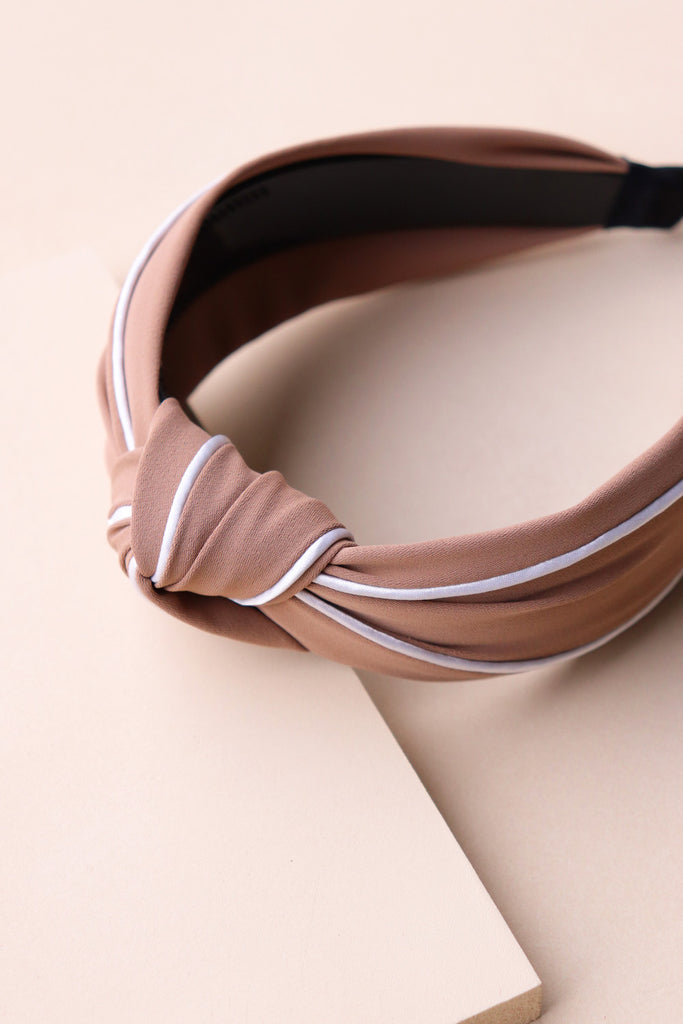 Classic Hair Band - Taupe