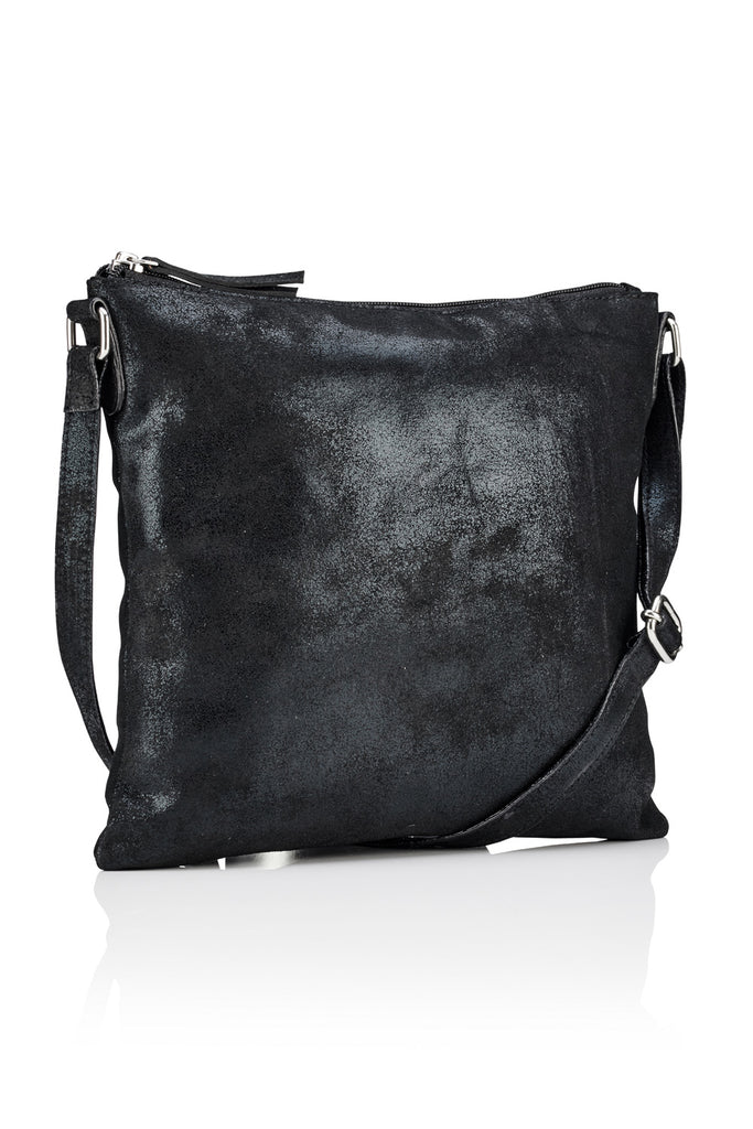Large Crossbody Bag - Black
