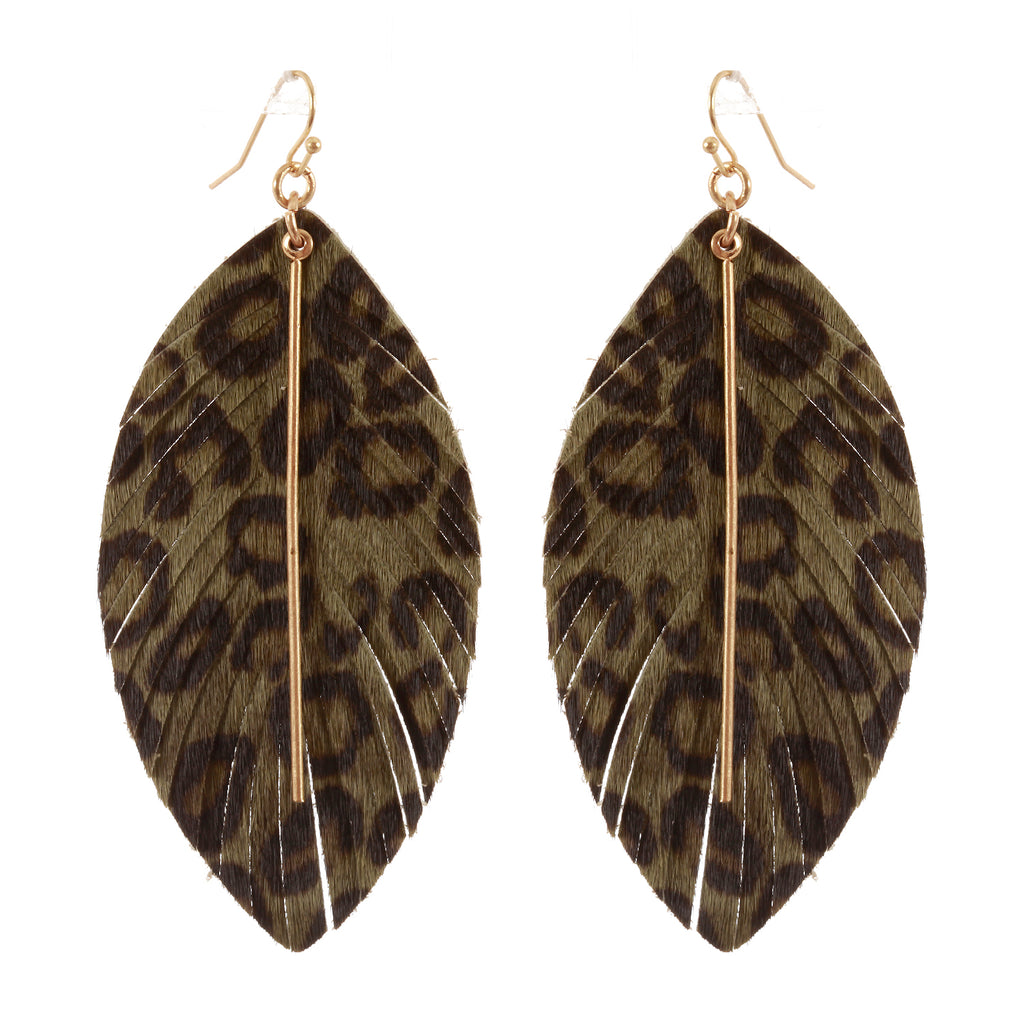 Feature Print Earrings