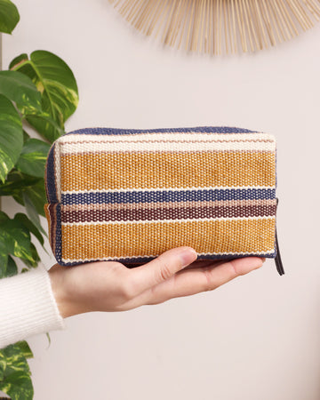 Clare Cosmetic Bag - Stripe