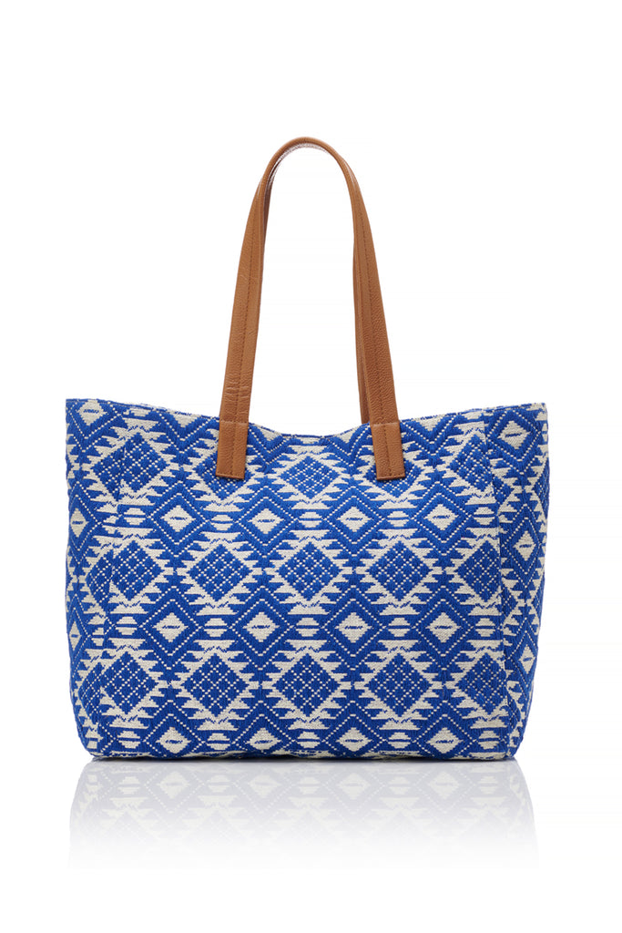 Fabric Tote - Blue