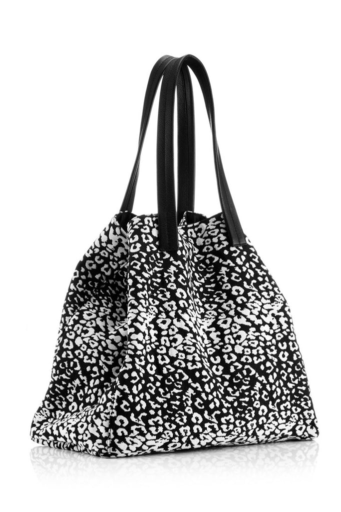 Large Tote - Leopard