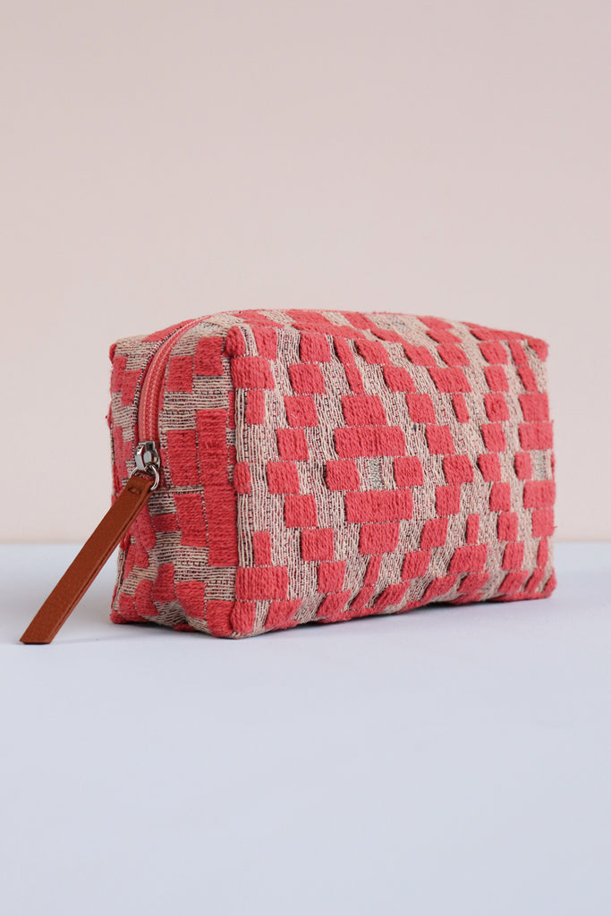 Make-Up Bag - Coral