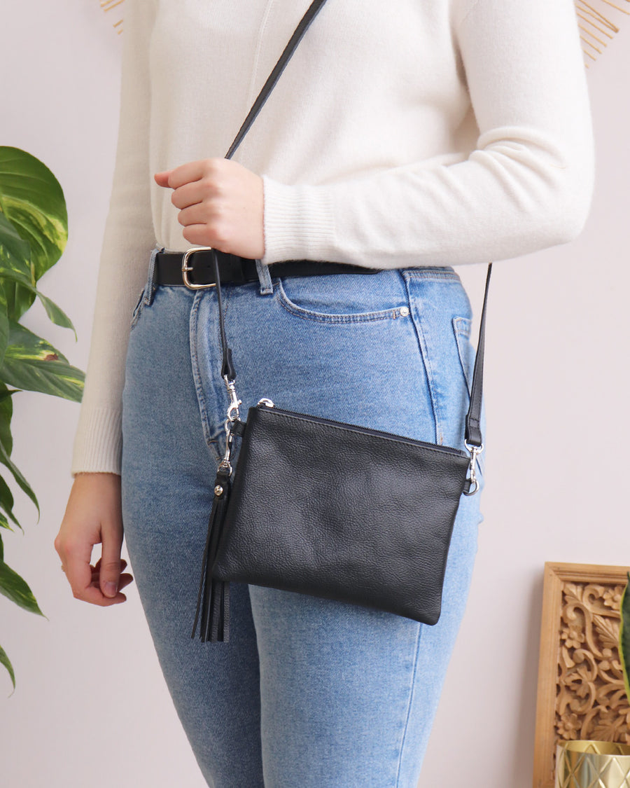 Hetty Crossbody - Black