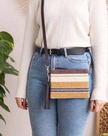 Hetty Crossbody - Stripe