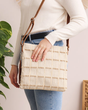 Rosa Crossbody - Natural