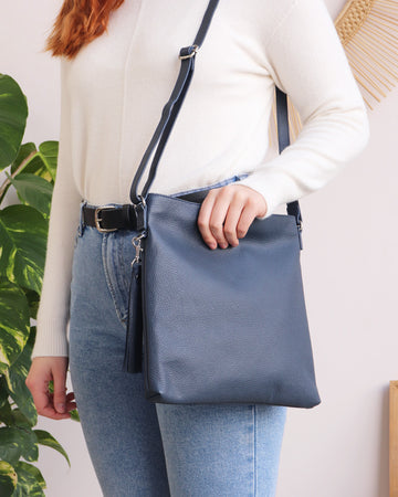 Rosa Crossbody - Navy