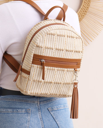 Sophie Backpack - Natural