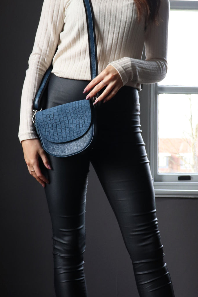 Moon Crossbody - Blue