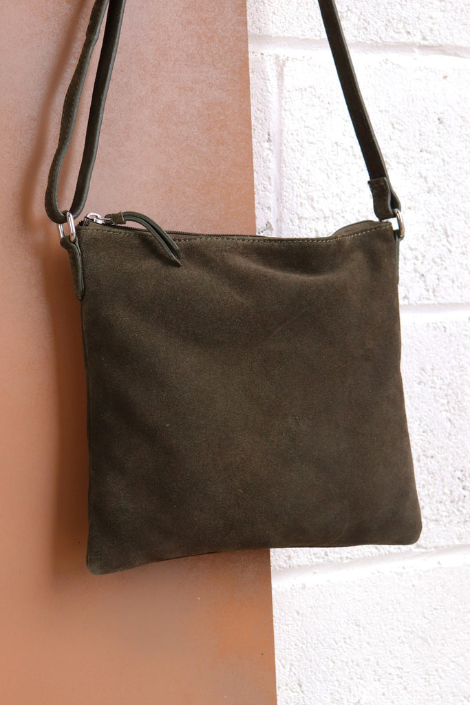 Large Crossbody Bag - Olive
