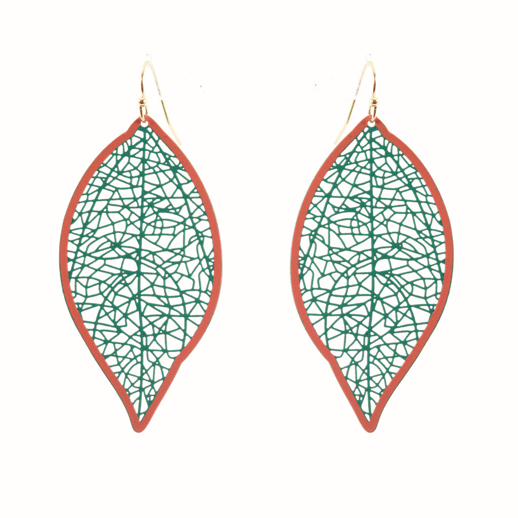 Lightweight Leaf Earrings