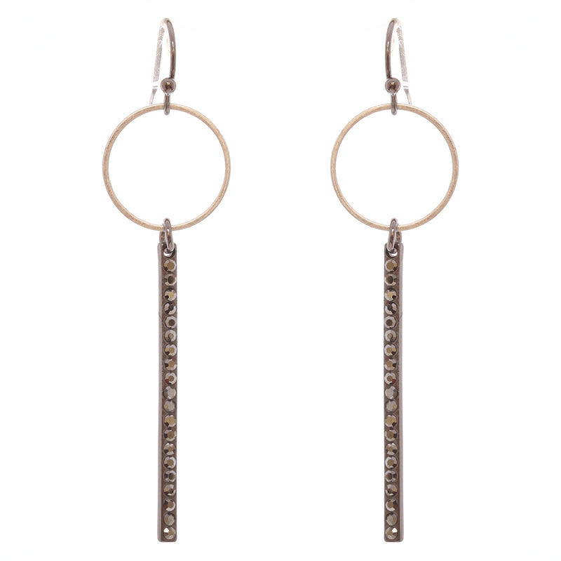 Delicate Elegant Crystal Earrings