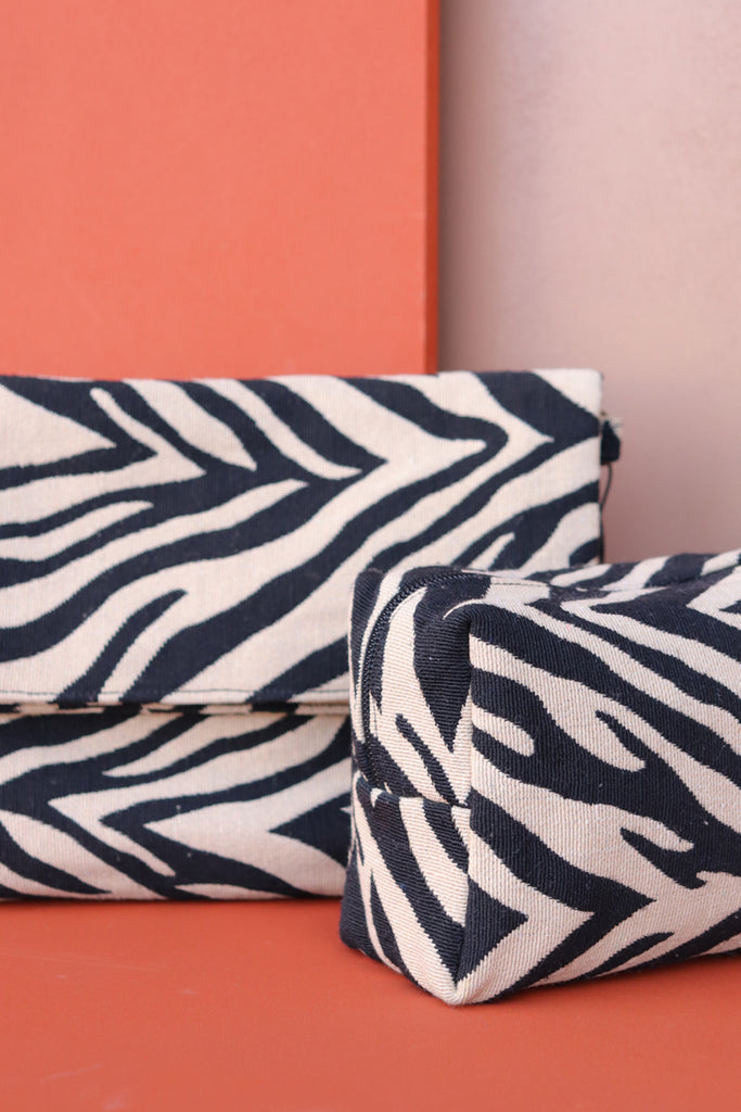 Make-Up Bag - Zebra