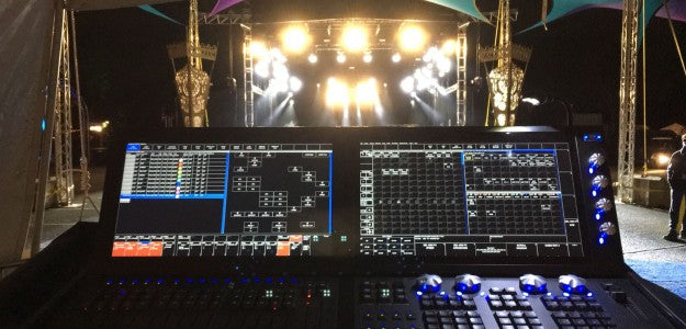 Matt Jonzey Jones Runs Tanzanite Lightshow with ChamSys MagicQ MQ500