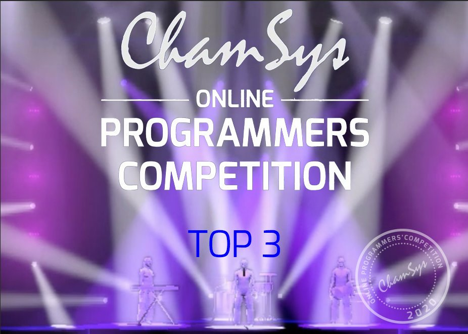 ChamSys Announces Winners of Online Programming Competition