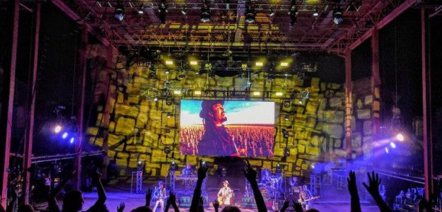 Jonezy Jones Balances Light For Michael Franti At Red Rocks With ChamSys MagicQ MQ80