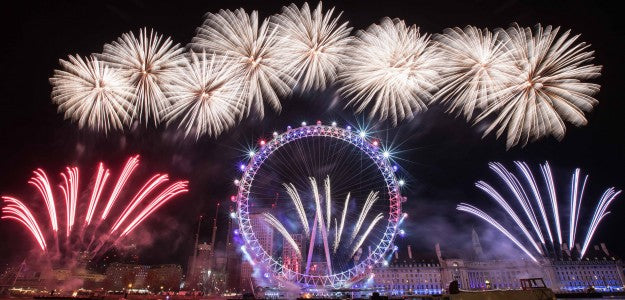 ChamSys MagicQ MQ500 Stadium Used on London New Years Fireworks Display