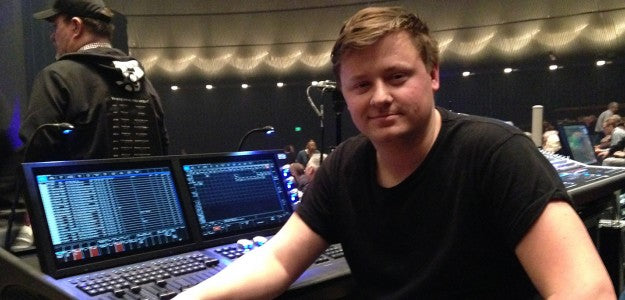 Tom Mumby Counts On ChamSys MagicQ MQ500 Stadium On Australian Pink Floyd Tour
