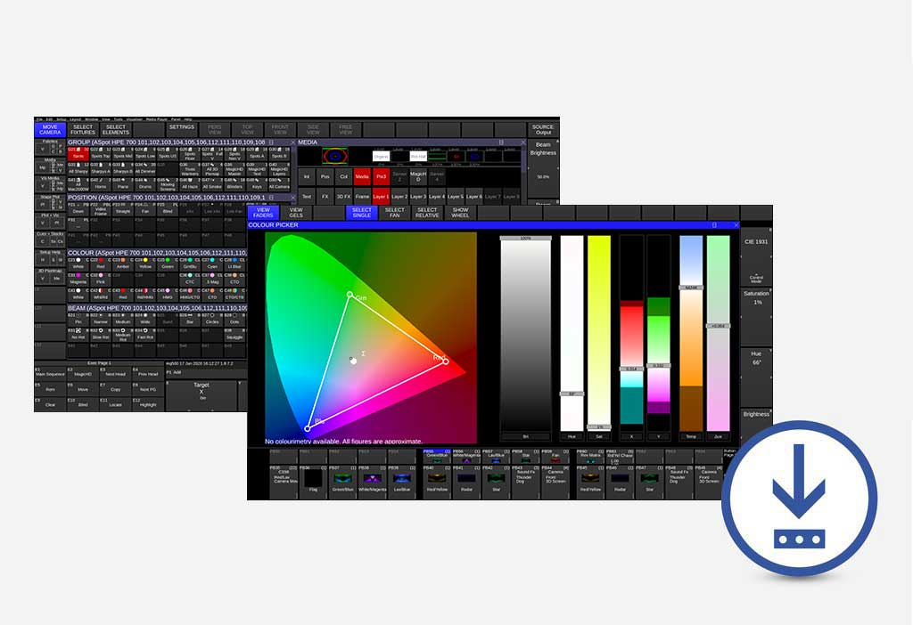 Chamsys Lighting Control Software And Hardware