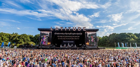 Latitude festival main stage with the Compact and powerful 24 universe MQ80 in control