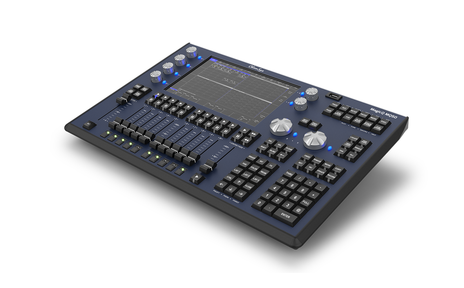 MagicQ MQ50 Compact Console - COMING SOON!