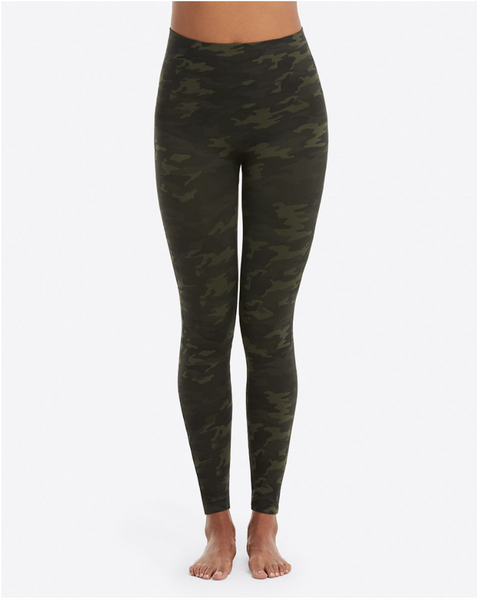 Spanx Camo Look Legging- Green