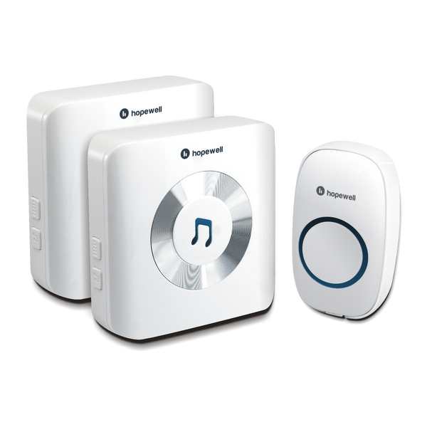 300m ULTRA Plug-In Wireless Doorbell ( Twin Pack )