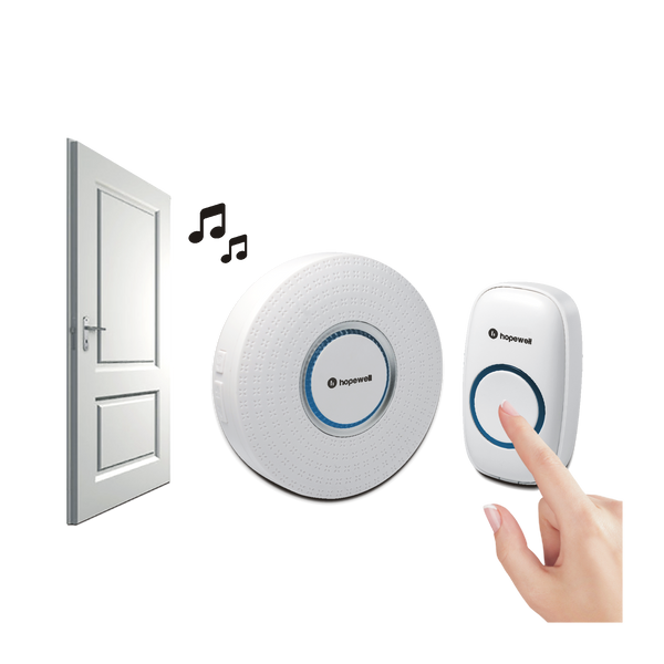 300m ULTRA Plug-In Wireless Doorbell