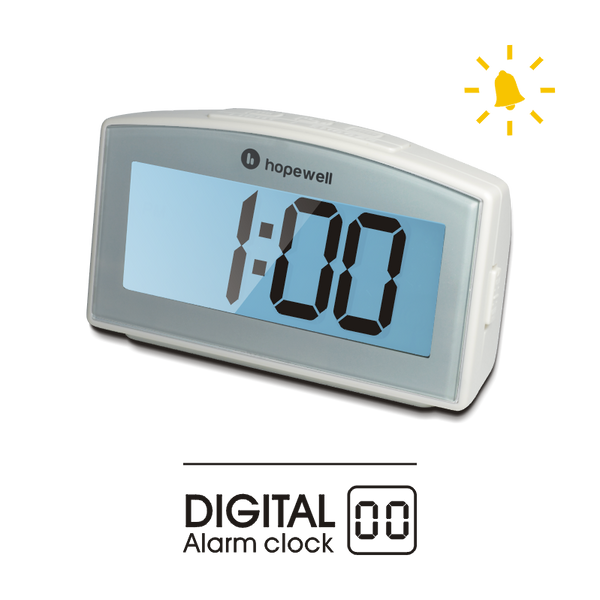 Digital Alarm Clock   [ Flash Alarm ]