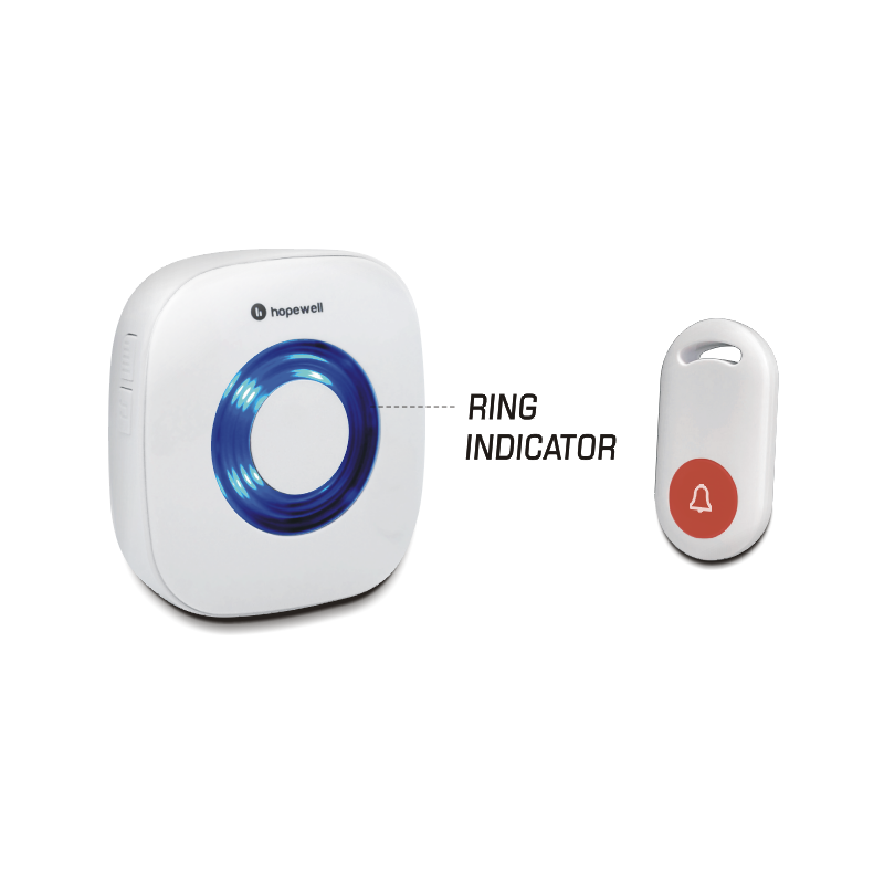 100m SUPER Battery Operated Wireless Calling Doorbell