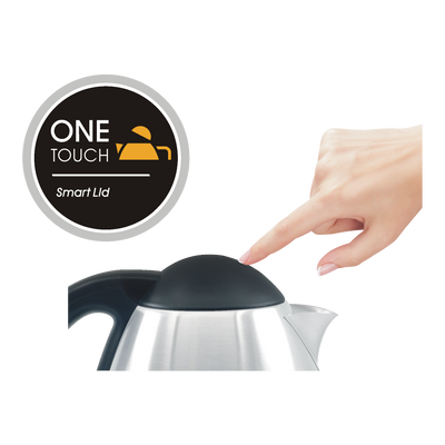 1.0L Mini Brushed Steel Kettle