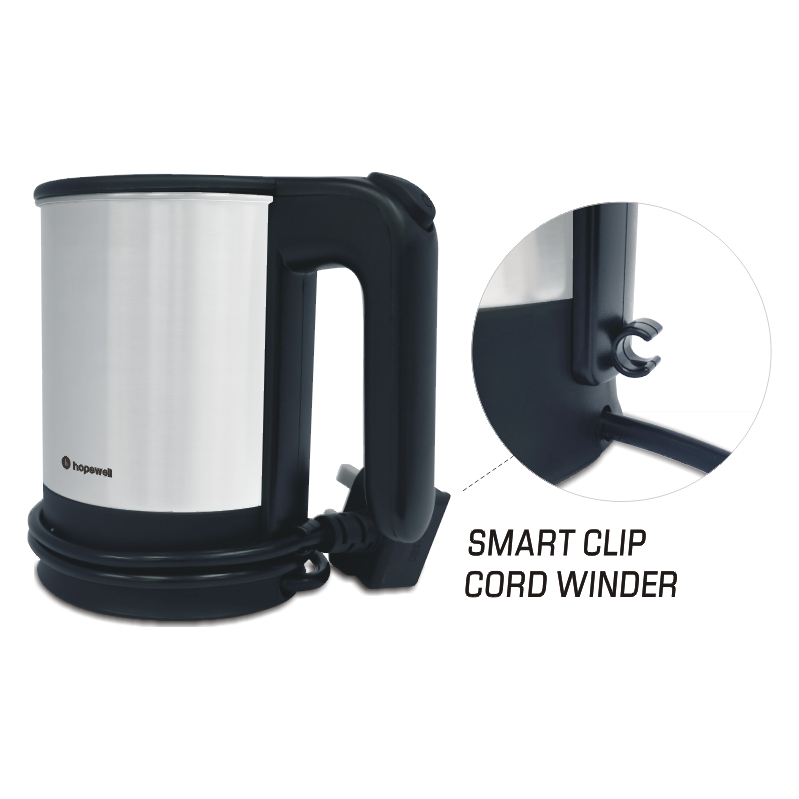 0.5L Dual Voltage Travel Kettle