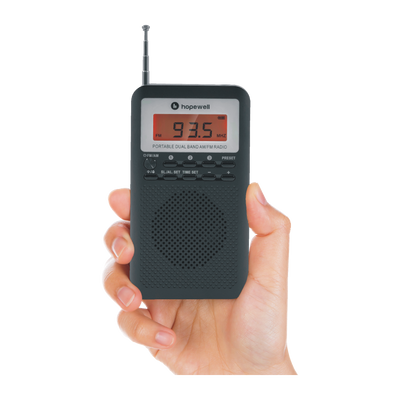 Portable Digital AM/FM Radio