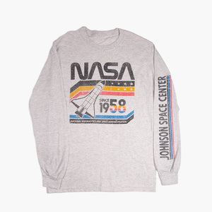 Retro NASA Long Sleeve Tee