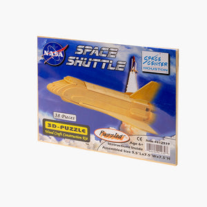 Space Shuttle Wooden Puzzle