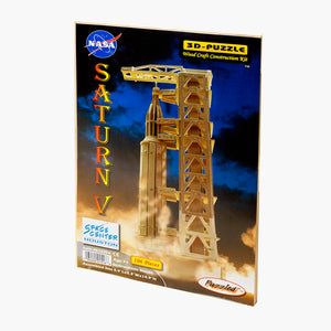 Saturn V Wooden Puzzle