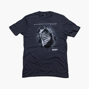 NASA Iconic Footprint Tee