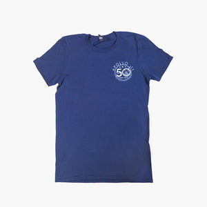 50th Anniversary Accomplished Navy Tee