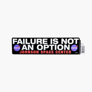 Failure is not an Option - Space Decals