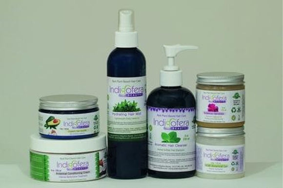 Natural Hair Care Ritual Set. Moisturizing hair care for coils kinks and locs