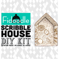 DIY scribble house (sold out)