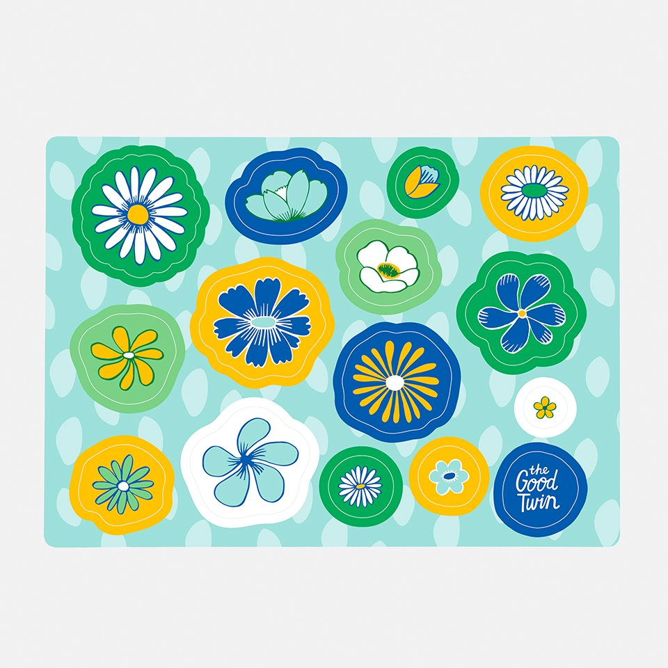 Flower Sticker Sheet