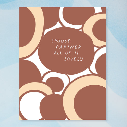 Lovely Spouse Card