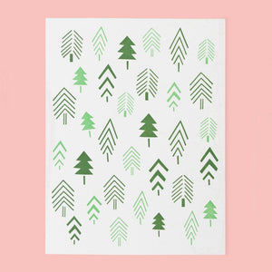 Tiny Trees Card