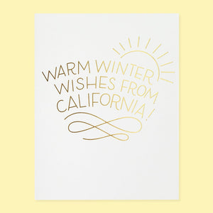 Warm Winter Card