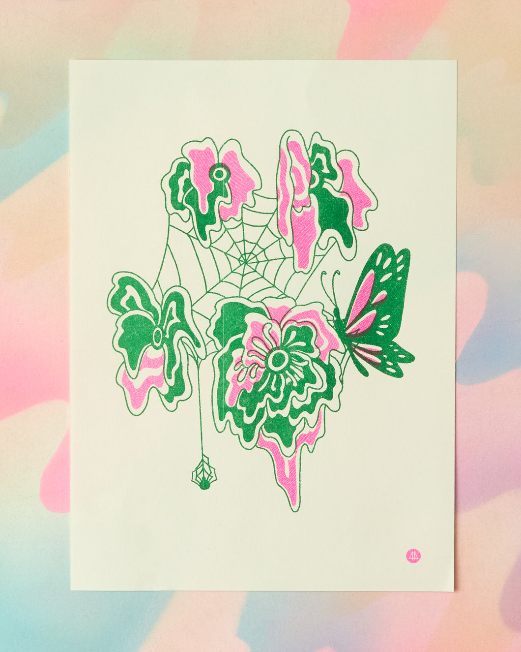 Floral Abstract Print
